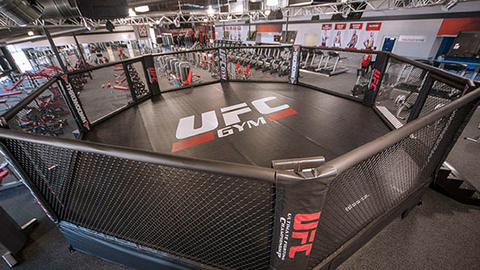 UFC Gym39s first signature gym in Florida located in Kendall will feature a 24foot Octagon Photo courtesy UFC Gym