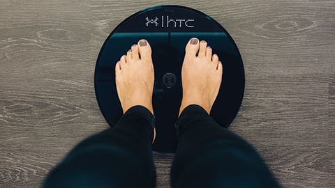 Under Armour39s connected fitness platform includes the HealthBox which contains a scale that measures body fat Photo courtesy Under Armour