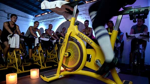 Elizabeth Cutler and Julie Rice cofounded SoulCycle in 2006 and Equinox bought a 97 percent stake in the company in 2011 Photo by Getty ImagesAlli Harvey