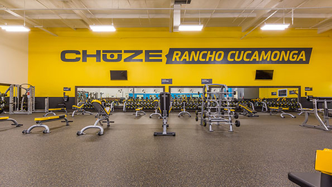 Chuze Fitness offers memberships starting at 999 with no annual commitment at its 16 current locations Photo courtesy Chuze Fitness