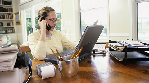 The calls you receive from your franchise support team will help to ease your concerns as you near the opening of your fitness franchise Photo by Thinkstock