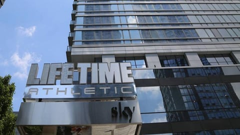 Life Time Athletic at Sky opened this week in New York City Photo by Life Time Fitness on Instagram