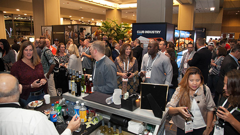 The Club Industry Show kicked off on Oct 12 at the Hyatt Regency Chicago with a day of conference sessions and an evening welcome reception which was sponsored by The Abs Co