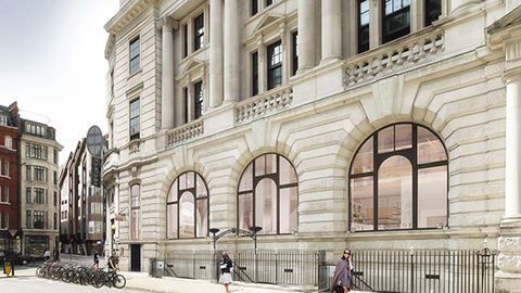 The St James39s Equinox which is scheduled to open in 2017 will be incorporated into this historic building Rendering courtesy Woods Bagot and Equinox