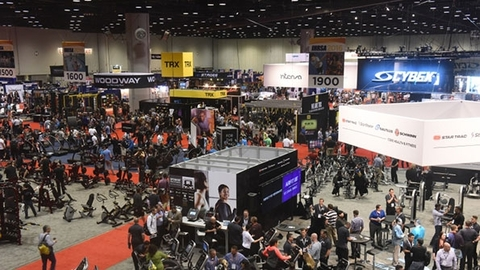 Last yearrsquos IHRSA event in Orlando drew 10700 fitness industry professionals and more than 415 exhibitors according to IHRSA Photo courtesy IHRSA