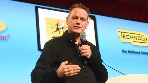 Martin Lindstrom author and futurist spoke at the IHRSA conference last week sharing insights he has gained through working with brands such as IKEA The Walt Disney Company Nestle LEGO Company and more Photo courtesy IHRSA