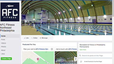 The AFC Fitness Northeast Philadelphia Facebook page shows this image of the club39s Olympic sized pool where the fire appears to have occurred Screen capture from AFC Fitness Facebook page