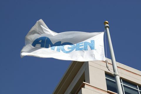 Amgen flag