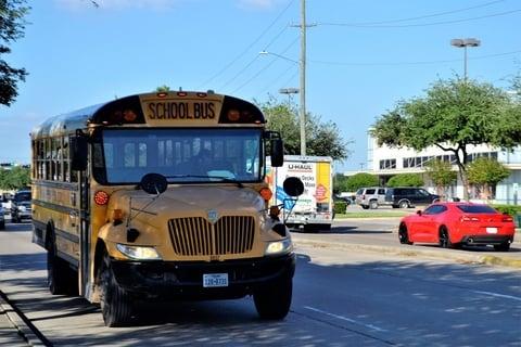 Houston school bus