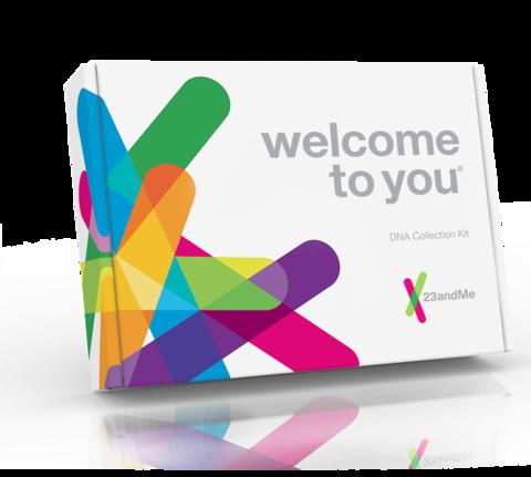 23andMe spit kit