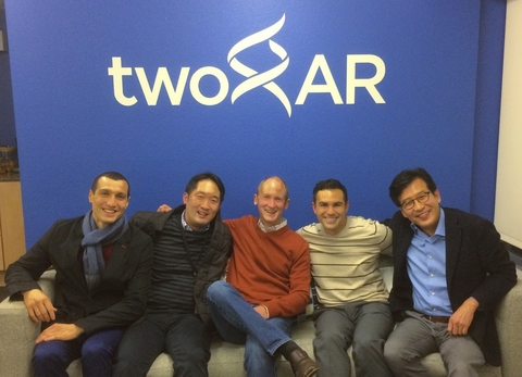 twoXAR financing round image