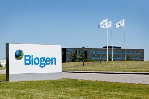 Biogen biologics plant in Denmark