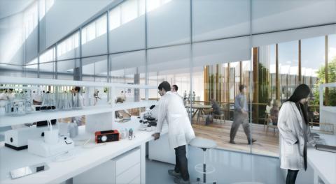AstraZeneca's new Cambridge, U.K. R&D center and global HQ - 2nd floor