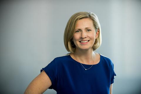 Headshot of Aoife Brennan, CEO of Synlogic