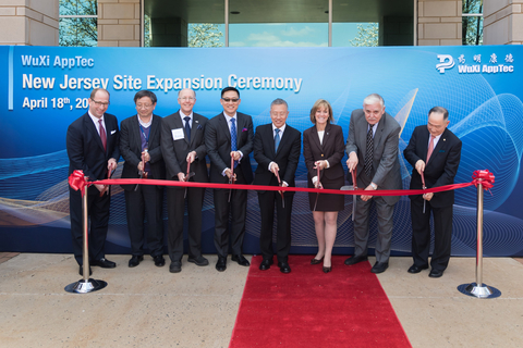WuXi AppTec Expands Site in the United States