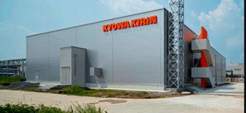 Kyowa Kirin manufacturing plant