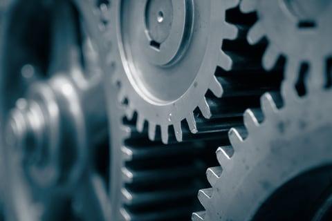 Interlocking gears