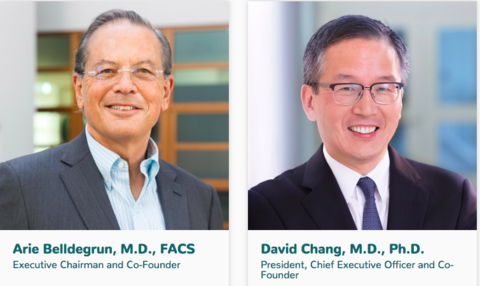 Allogene Therapeutics Co-Founders Arie Belldegrun and David Chang