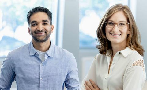 Encoded Therapeutics CEO Kartik Ramamoorthi and CSO Stephanie Tagliatela