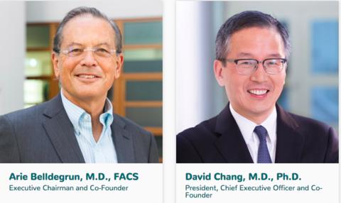 Allogene Therapeutics Co-Founders Arie Belldegrun and David Chang