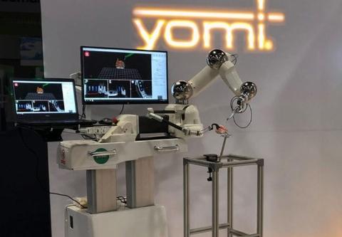 Yomi robotic assist for dental implants