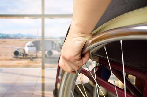 wheelchair airplane