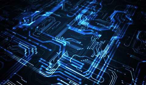 Illuminated circuit traces