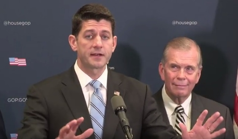 Paul Ryan speaks at press conference