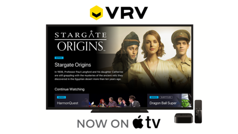 VRV now has Stargate SVOD and is adding Apple TV support | FierceVideo
