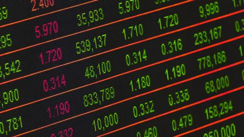 Financial market data. Image: Pixabay