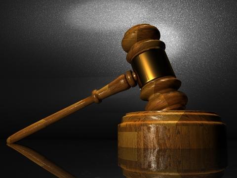 Gavel court room lawsuit judge