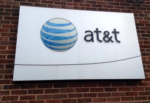 AT&T signage
