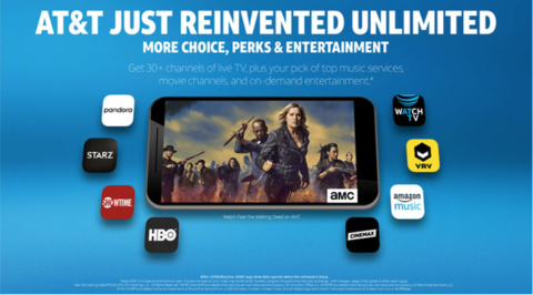 AT&T debuts WatchTV skinny bundle for its new unlimited wireless