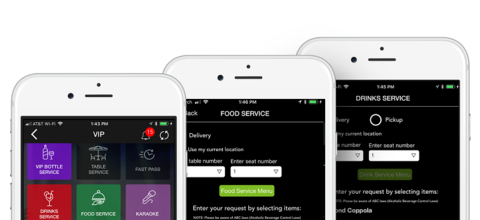 VenueLytics food and drink app (use only for VenueLytics articles)