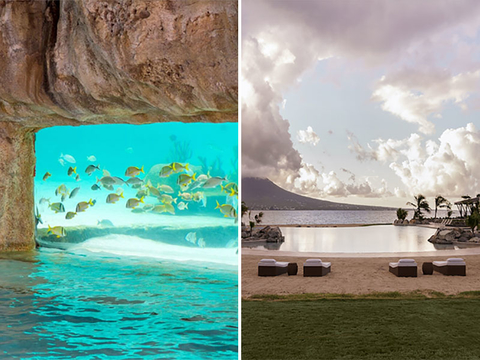 The Grand Hyatt Baha Mar in the Bahamas vs. The Park Hyatt St. Kitts