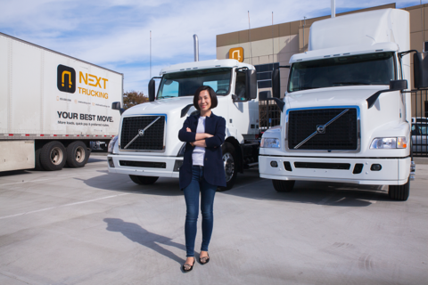 NEXT Trucking CEO Lidia Yan brings smoother logistics to
