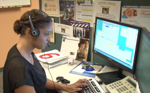 AT&T - DirecTV call center - screencap