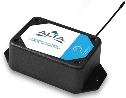 The Advanced Vibration Meter from ALTA has a configurable frequency measurement range from 0.4 Hz to 4800 Hz (24 to 288,000 rpm).