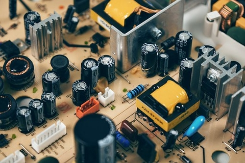 Circuit board with passive components