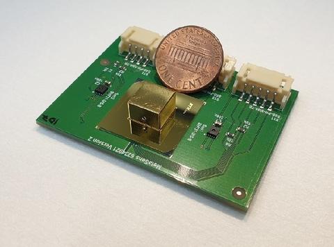 Metamaterial optical gas sensor