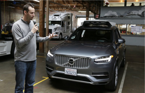 Former Google and Uber autonomous vehicle expert Anthony Levandowski
