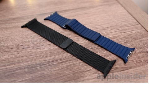 Apple seeks to pack more Apple power, data into Watch bands