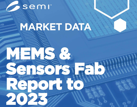 Total global installed capacity for MEMS and sensors fabs is forecast to grow 25% to 4.7 million wafers per month from 2018 to 2023, according to the MEMS & Sensors Fab Report to 2023.