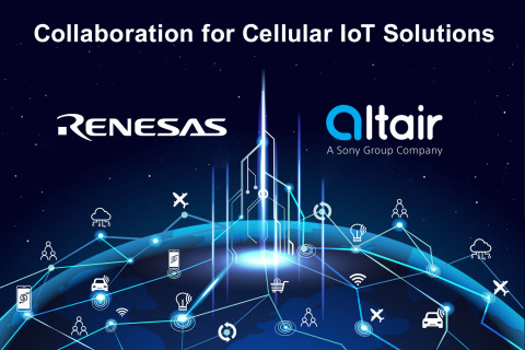 Renesas, Altair team on cellular IoT solutions