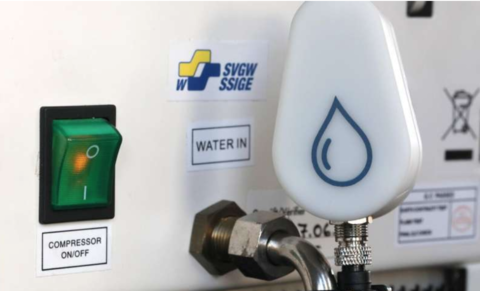 Smart flow meter helps save water