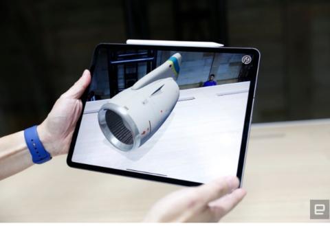 Report says next iPad Pro may have 3D sensors