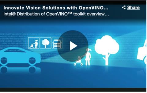 Intel Distribution of OpenVINO  toolkit,