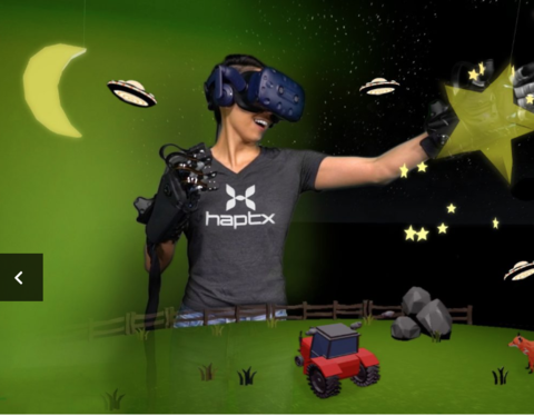 HaptX, Advanced Input Systems team on virtual reality gloves