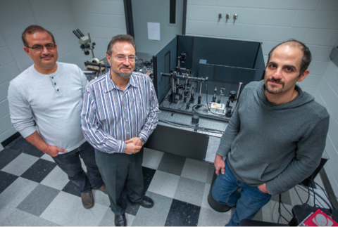 Researchers use nanoscale sensors to measure stress on materials