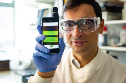 Smartphone cameras speed urinary tract infection diagnosis